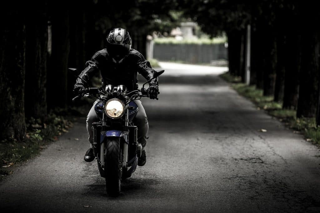 biker, motorcycle, ride